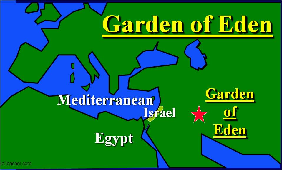 The Garden of Eden  Black History In The Bible