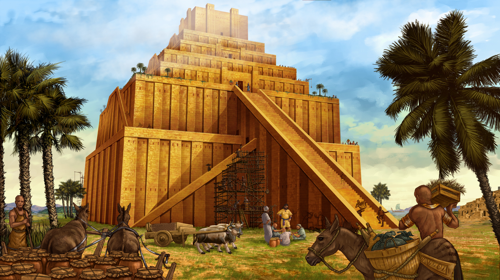 Tower of Babel In The Bible