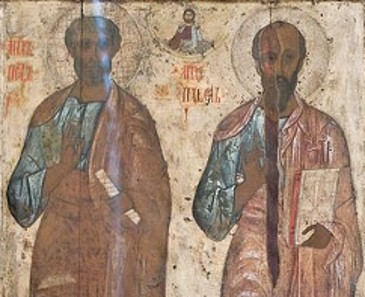 Peter and Paul - Depicted As Black