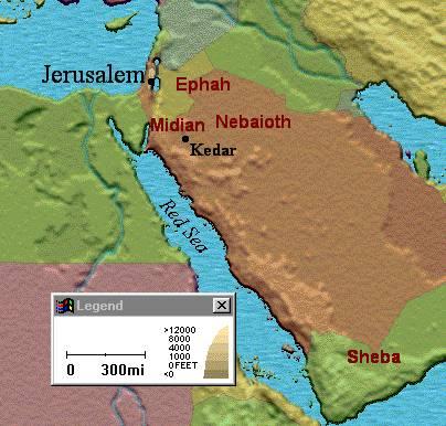 Map of Kedar