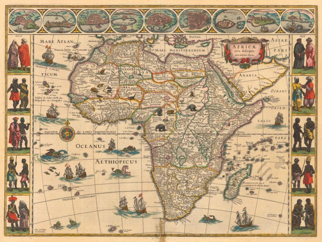 Aethoipian Ocean Map - Ethiopian Ocean map