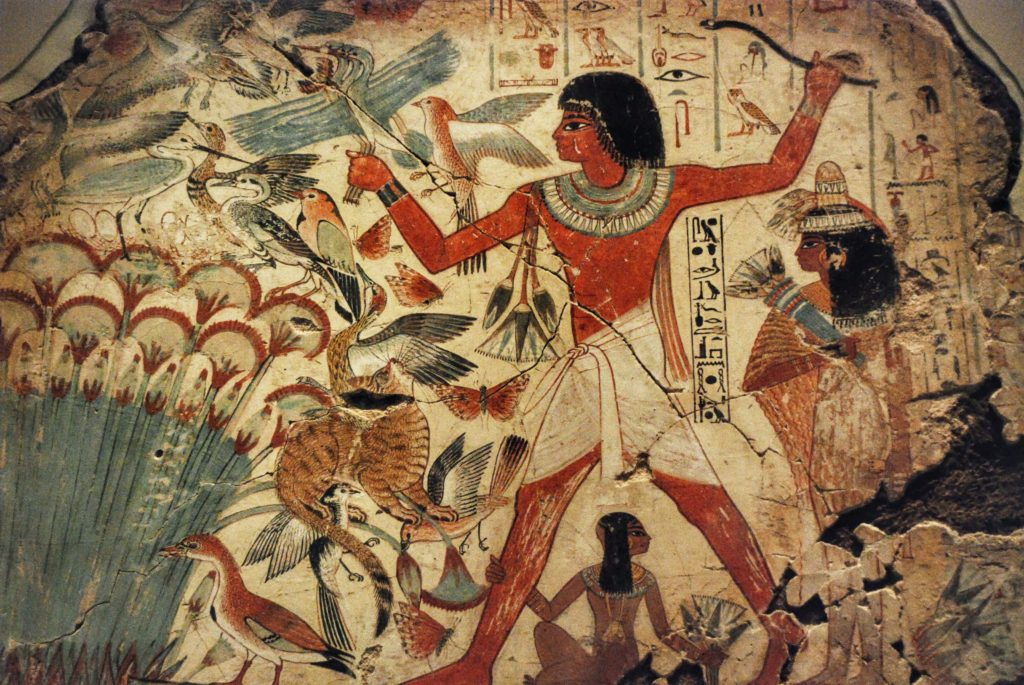 Egyptian Hunting Birds