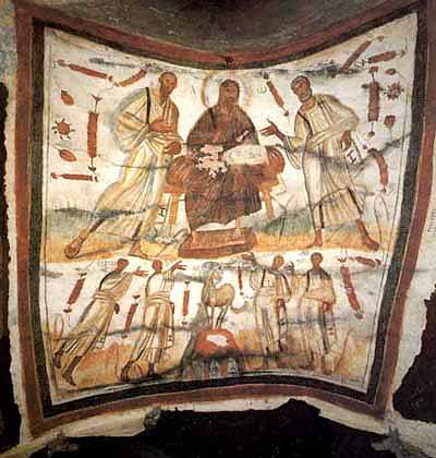 Christ, Peter, and Paul - Depicted As Black