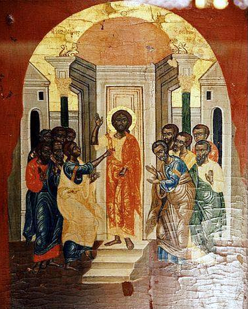 The Earliest Known Depiction of Jesus (Coptic Museum in Cairo, Egypt)