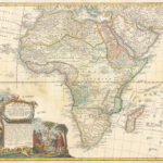 1737: Spanish Map of Judah On The West Coast of Africa