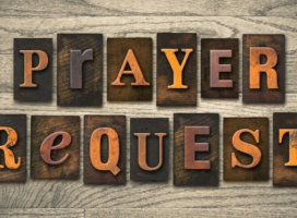 Weekly Call To Prayer / Prayer Requests – Week 4