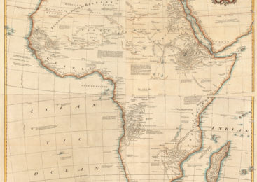 "1766: French Map Shows Negroland As ""Populated By Jews"""