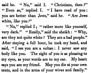 "1822: Jews Described As ""Not White"" and ""Very Dark"""