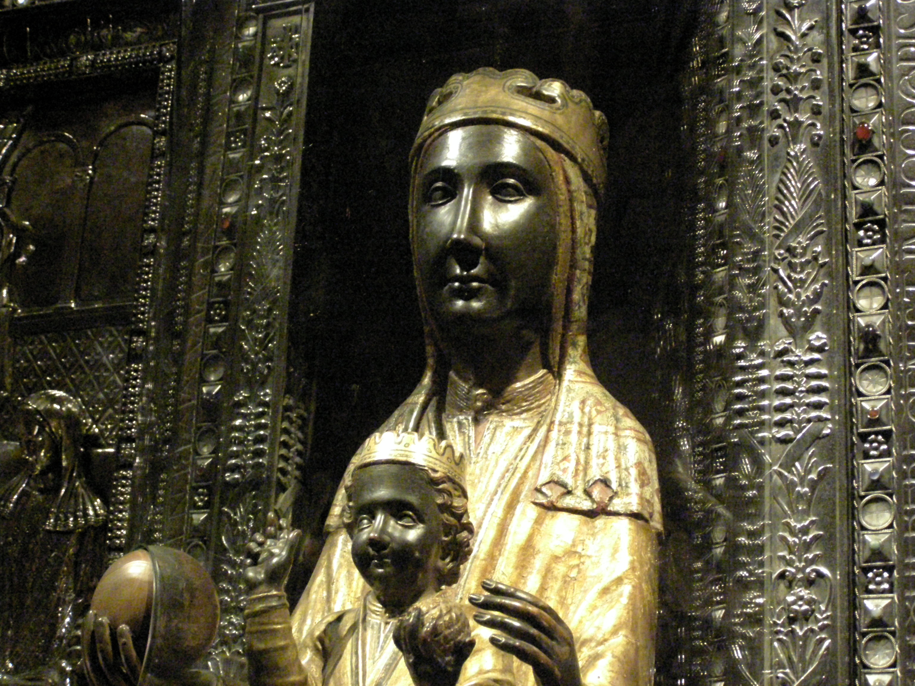 The Black Virgin of Monserrat