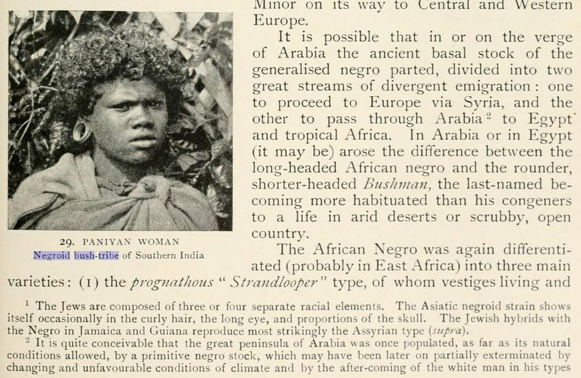 1910: Hebrews Referred To As Negroes and Linked To Jamaica