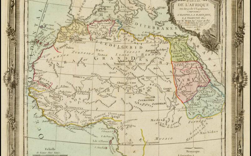 Partie De L'Afrique en deca de L'Equateur … 1766