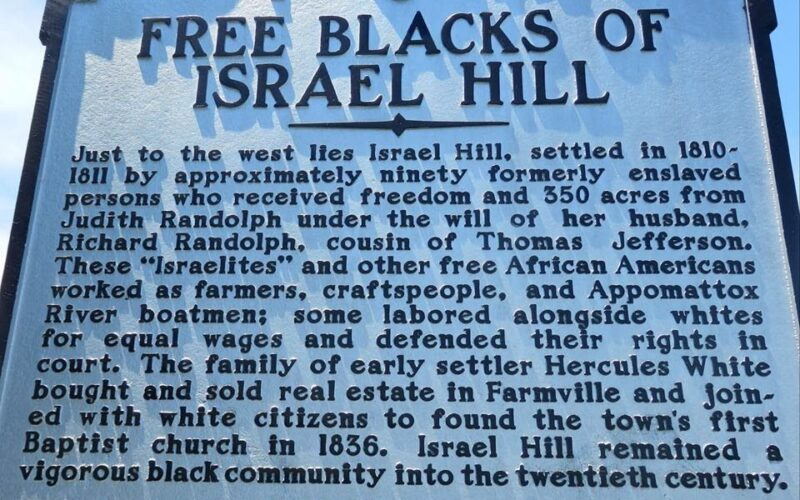 Free Blacks of Israel Hill